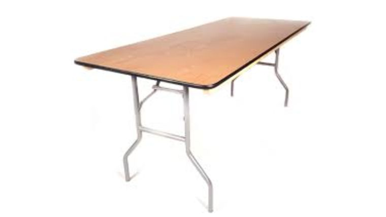 8ft. Rectangle Table : goodshuffle.com