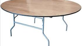 """Image of a 60"""" Round Table"""