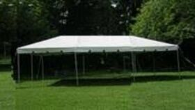 Image of a 10' x 30' Tent
