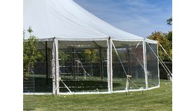 Image of a 10 x 10 Clear Sidewalls Sailcloth