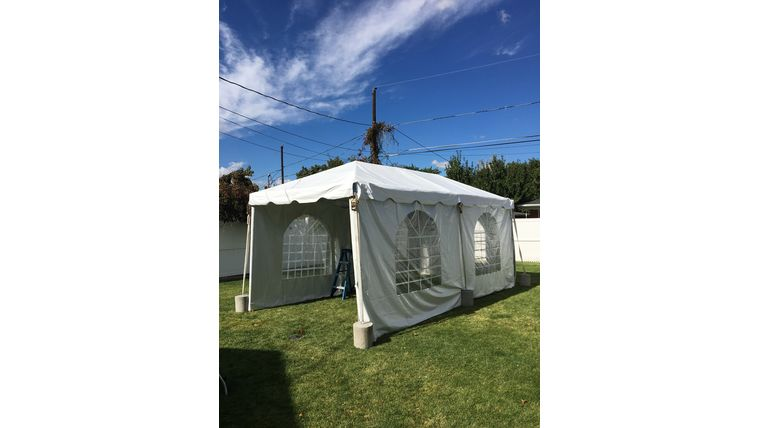 Picture of a 10 x 20 Standard Frame Tent