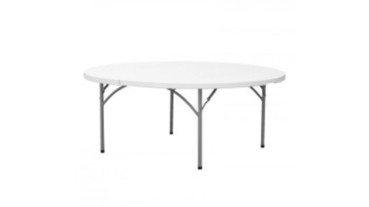 """Picture of a 60"""" Round Folding Table"""