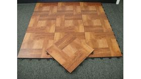 Image of a 15' x 15' Portable Wood Dance Floor