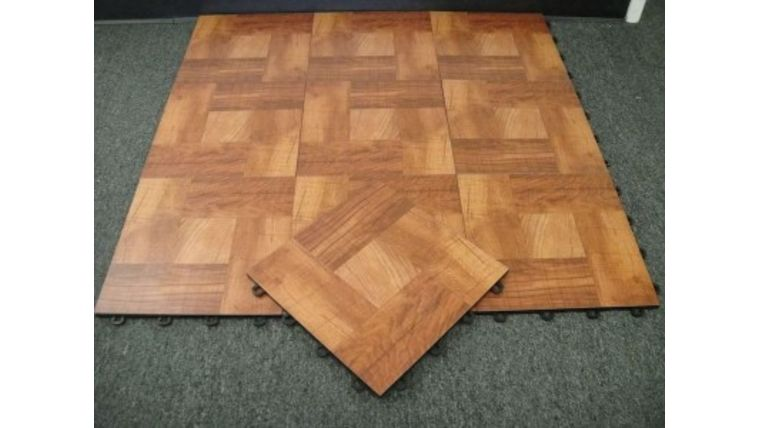 Picture of a 15' x 15' Portable Wood Dance Floor