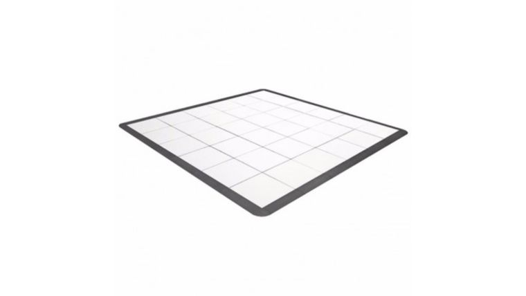 Picture of a 12 x 12 White Portable Dance Floor