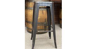 Image of a Bar Stool- Black Tolix bistro style bar stools