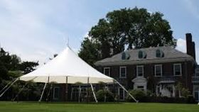 Image of a 32' x 30' Tidewater Sailcloth Tent