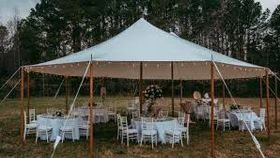 Image of a 32' x 40' Tidewater Sailcloth Tent