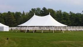 Image of a 32' x 50' Tidewater Sailcloth Tent