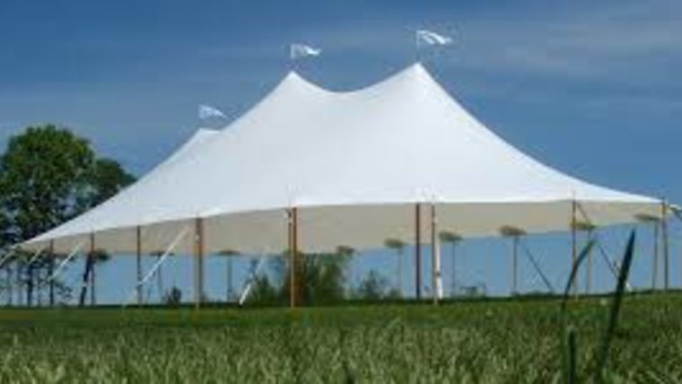 Picture of a 32' x 60' Tidewater Sailcloth Tent