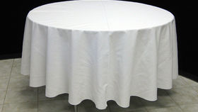 "Image of a 108"" Round Table Linen (Color)"