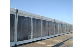 Image of a Structure Sidewall 5m x 3m section Clear