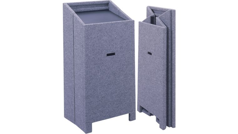 Picture of a Lectern Grey Carpet