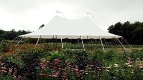 Image of a 44' x 63' Tidewater Sailcloth Tent