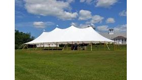 Image of a 44' x 103' Tidewater Sailcloth Tent