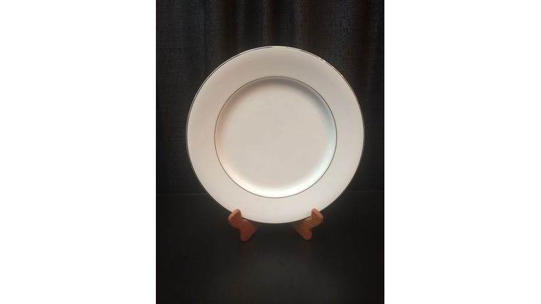 Picture of a Platinum Band Charger Plate