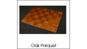 Image of a Dance Floor 3x4 Oak Parquet
