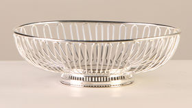 Image of a Bread Basket Silver