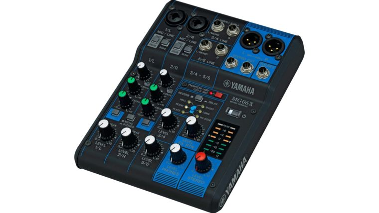 Picture of a Audio Mixer 6 Channel Yamaha