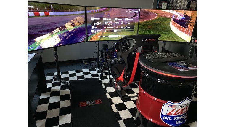 Picture of a Next Level Racing Simulator