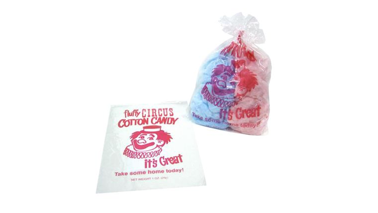 Picture of a Cotton Candy Bags 100ct 1oz