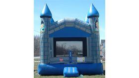 Image of a Blue Castle Bounce