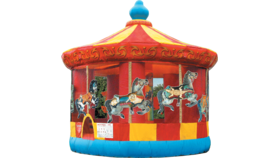Image of a Carousel Bounce