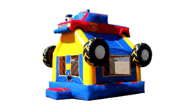 Image of a Monster Truck Bounce