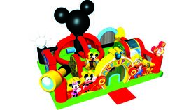 Image of a Mickey Toddler Park Combo