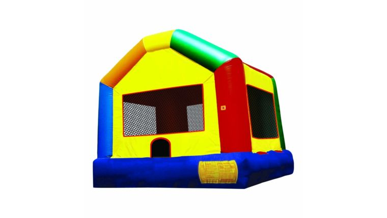 Picture of a Basic Bounce House