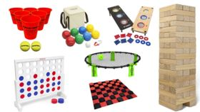 Image of a Jumbo Yard Game Package
