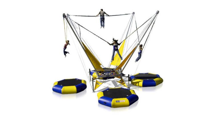 Picture of a Bungee Trampolines Euro