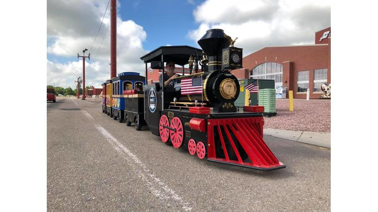 Picture of a Trackless Train
