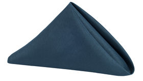 "Image of a 20"" x 20"" Polyester Napkins Navy Blue"