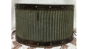"""Image of a Cake Stand ~ Vintage Copper Cake Stand 14""""W x 8""""H"""