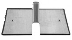 Image of a Pedestal Light Stand Base Plate