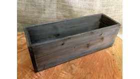 Image of a Crate ~ Wood, Brown Rectangle