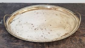 Image of a Brass Tray No. 1