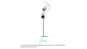 Image of a Jade Photobooth Package