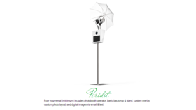 Image of a No. 2 - Peridot Photobooth Package