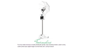 Image of a No. 3 - Tourmaline Photobooth Package