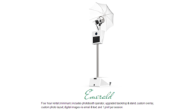 Image of a Emerald Photo Booth