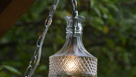 Image of a Decanter Pendant Light