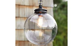 Image of a Calhoun Glass Pendant Light