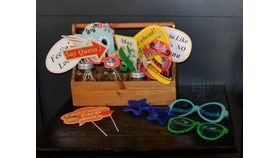 Image of a Fiesta Photobooth Props