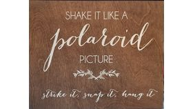"Image of a ""Polaroid Picture"" Sign"