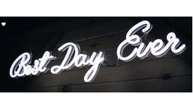 """""""Best Day Ever"""" Photobooth image"""