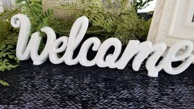 "Image of a ""Welcome"" Sign"