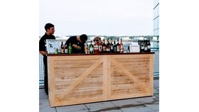Image of a French County wood bar