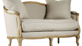 Image of a French Country love seat